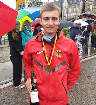 Jonathan Hilbert: Für U20-WM qualifiziert / Foto: Th. Gentzel