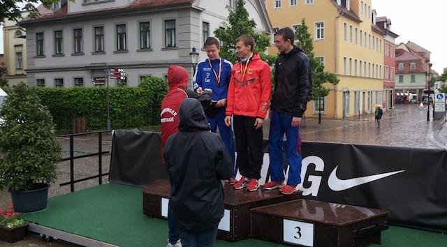 Das Mannschaftsergebnis kann sich erneut sehen lassen: Auch in diesem Jahr Platz 1 für das ELAC-Geherteam / Foto: Th. Gentzel